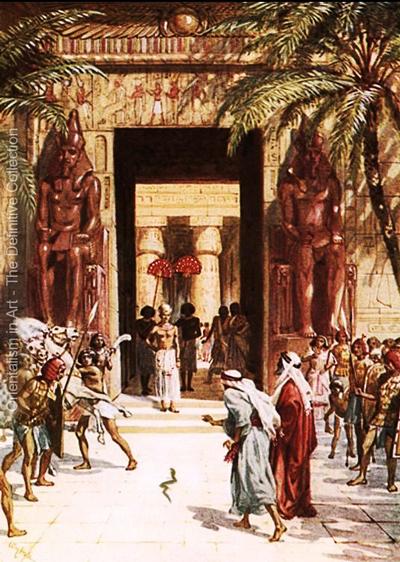 Moises-y-Aaron-Faraon