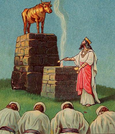 Jeroboam-idolatria