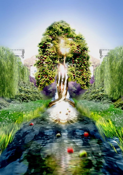 G nesis 2 8 9 yahveh planta el jard n del ed n la sagrada palabra River flowing from the garden of eden