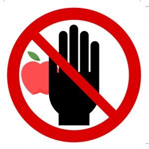 no-tocar-fruto