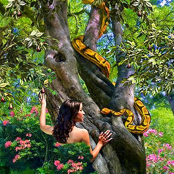 Eva-y-la-serpiente