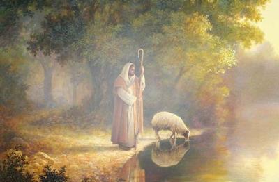 Jesus-caminando-jardin