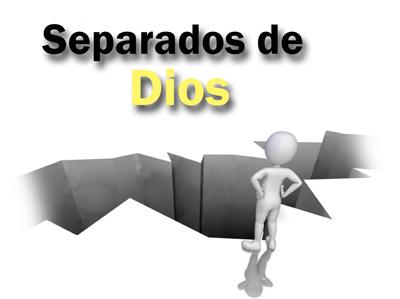 Con la muerte espiritual la persona se encuentra separada de Dios.
