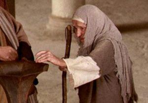 En Marcos 12:41-44 Jesús describe cómo la viuda pobre había dado más que todos los demás.