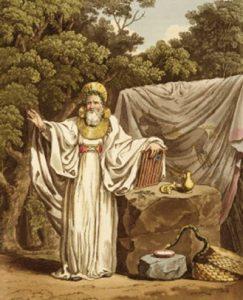 Los druidas eran unos sacerdotes paganos de un grupo étnico celta.