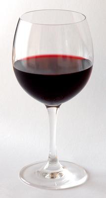 Copa de vino.